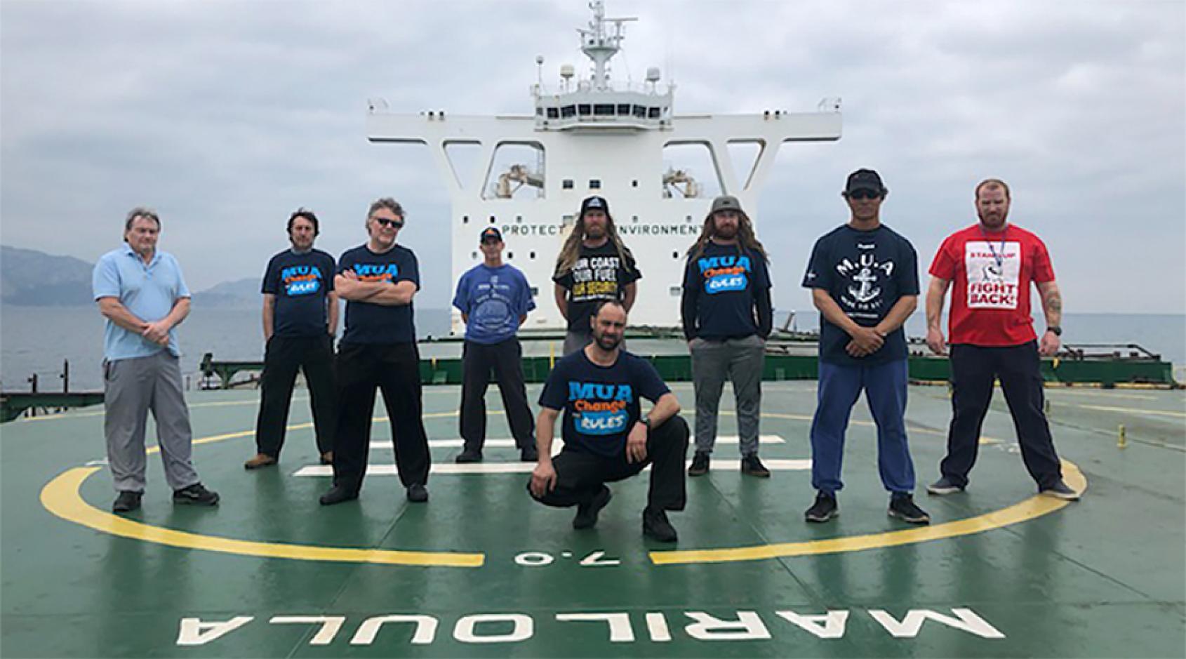 Sindicatos marítimos internacionales instan al Gobierno australiano a salvar el transporte marítimo nacional